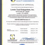 New Certification Approvals in 2014